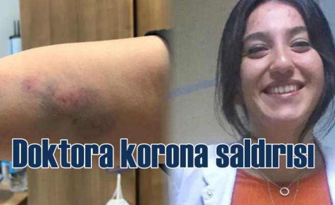 Kadın doktora koronovirüs saldırısı