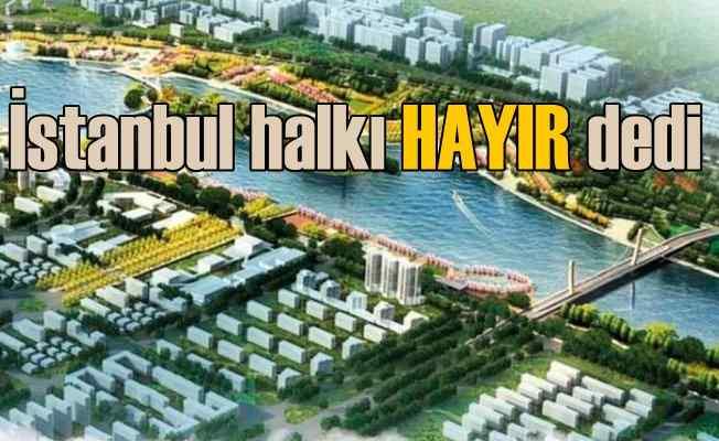 Kanal İstanbul Anketi | Vatandaşların yüzde 64.2'si hayır dedi