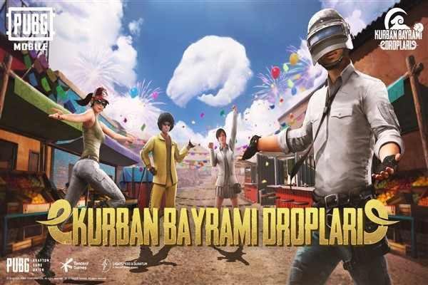 PUBG Mobile'dan Türkiye'deki oyunculara özel bayram hediyeleri