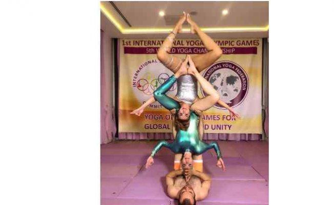 Yoga Olimpik Oyunları'nda Türk sporcuların zaferi