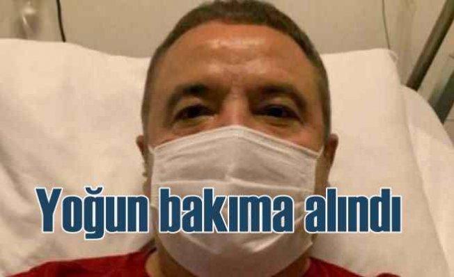 Antalya Büyükşehir Belediye Başkanı Muhittin Böcek yoğun bakımda