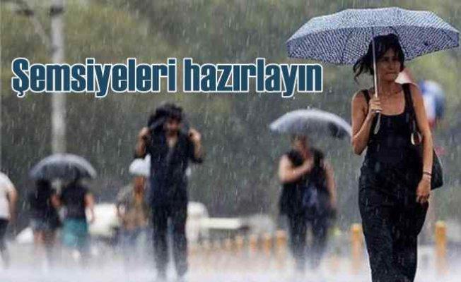 Bugün hava nasıl olacak? 2 bölgede yağmur uyarısı