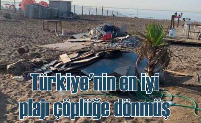 Burası Lara Plajı | İsyan ettiren görüntüler