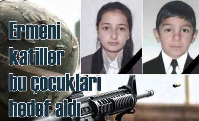 Ermeni saldırısında can veren 2 ortaokul öğrencisi yürekleri dağladı