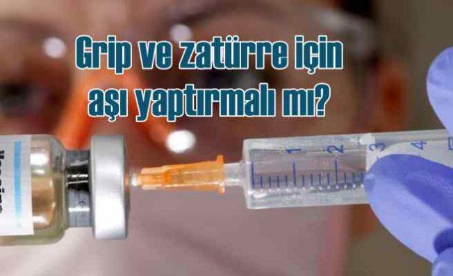 Grip ve zatürre aşısı yapılmalı mı?
