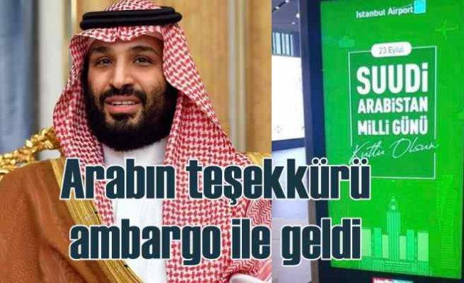 İGA Milli Gününü kutlamıştı | Suudi Arabistan'dan ambargo