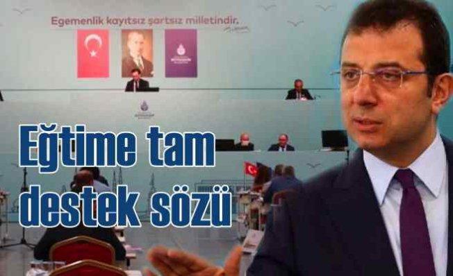 İmamoğlu | İstanbul'da eğitime tam destek vereceğiz