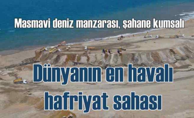 Kapanmaz deniz manzaralı eşsiz hafriyat sahası