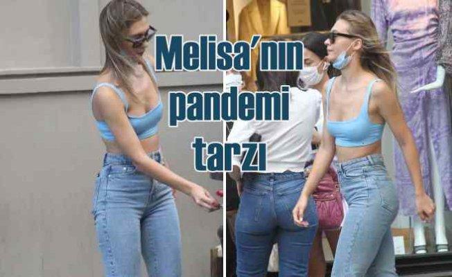Melisa Döngel'den pandemi günleri modası