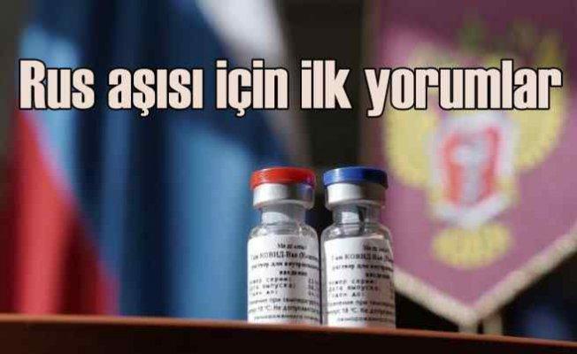 Rusya'nın Covid-19 aşısı için batılı ülkelerden övgü
