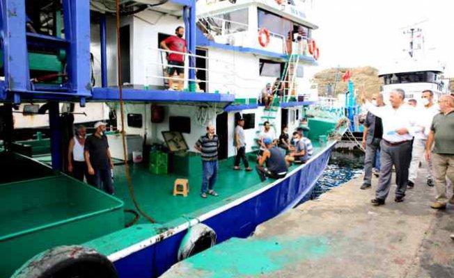 Sarıyerli balıkçılar 'Vira Bismillah' dedi