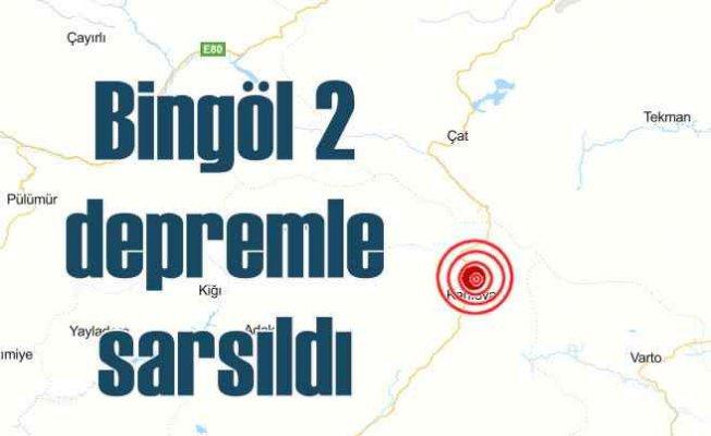 Son dakika deprem, Bingöl 4,2 ile sallandı