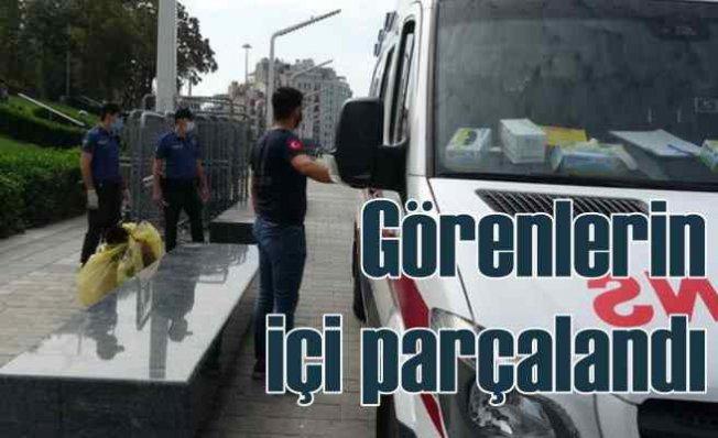 Taksim'de akıllara durgunluk veren olay