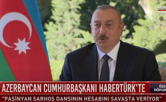 Aliyev | Sarhoş Paşinyan, hesabını cephede ödüyor