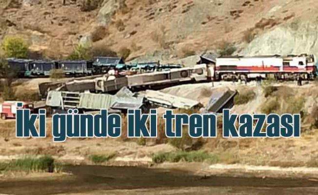 Ankara Kalecik'te tren kazası   2 makinist can verdi