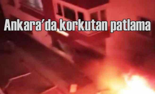 Ankara Mamak'ta patlama | Yaralılar var