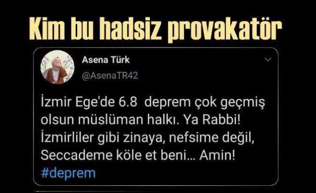 #AsenaTR42 skandalı | İzmir enkazdan can kurtarmaya çalışırken çirkin provakasyon