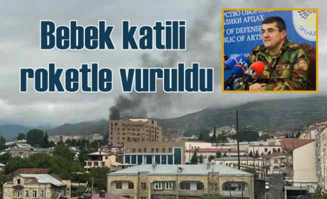 Azerbaycan'da son durum | Ermeni komutan roketle vuruldu