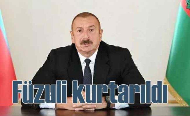 Azerbaycan'da son durum | Füzuli kenti ve 7 köy Ermeni işgalinden kurtarıldı