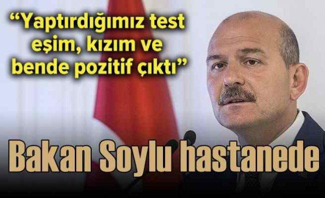 Bakan Süleyman Soylu, koronavirüse yakalandı