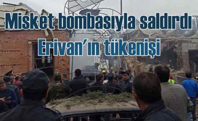 Ermenistan Gence'ye saldırdı, 24 ölü 111 yaralı var