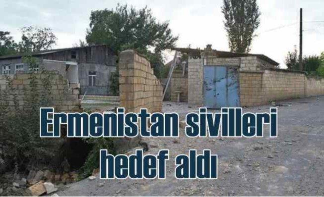 Ermenistan Karabağ'da tokat yedikçe sivillere saldırıyor