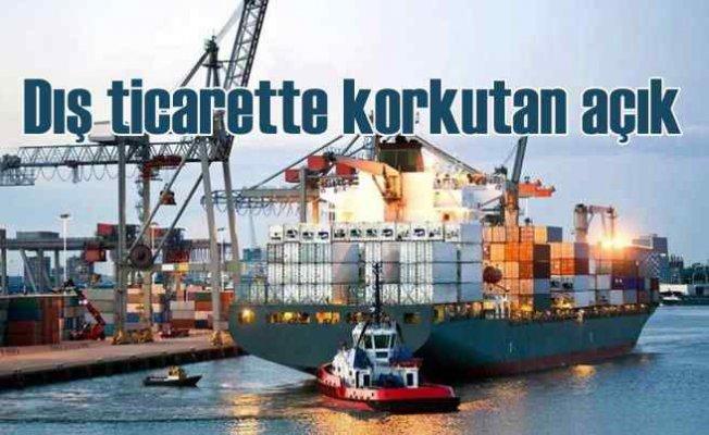 İstanbul'da dış ticaret açığı yüzde 399 arttı