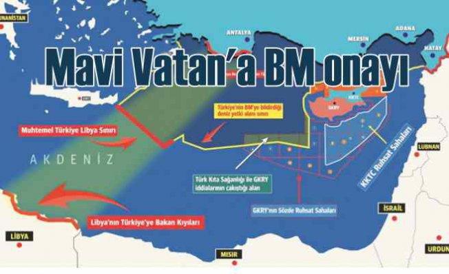 Mavi Vatan'a BM onayı | Libya ile deniz komşusu olduk