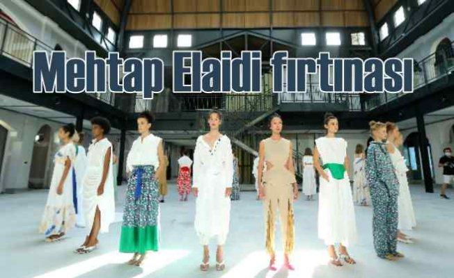 Mehtap Elaidi, Mercedes-Benz Fashion Week'e damgasını vurdu
