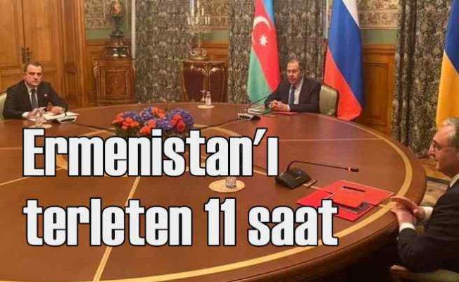 Moskova'da Karabağ pazarlığı   11 saatlik görüşme işgali bitirecek mi?