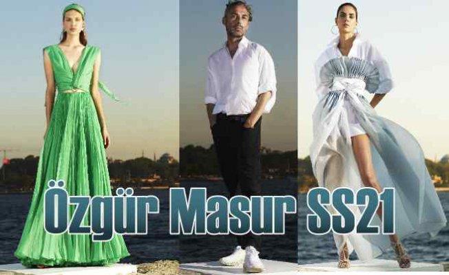 Özgür Masur MBFWI SS21 | Moda gecesinde 'Güçlü silüetler' geçidi