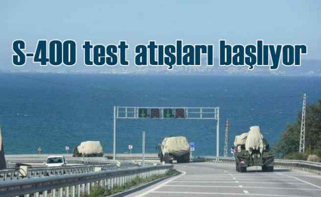 S-400 füzeleri test atışı için Sinop'a getirildi