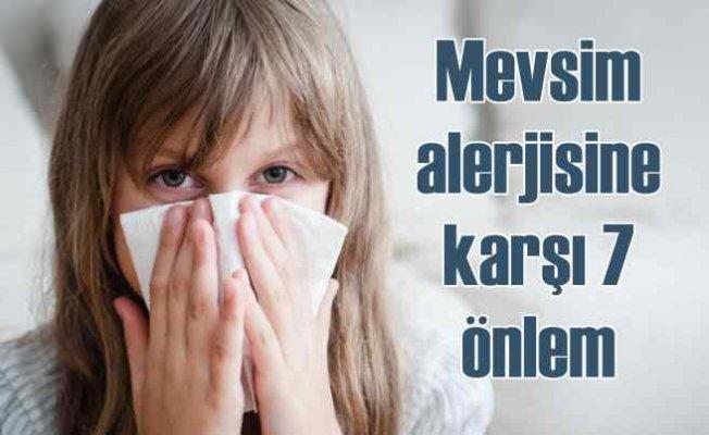 Sonbahar alerjisine karşı 7 etkili önlem