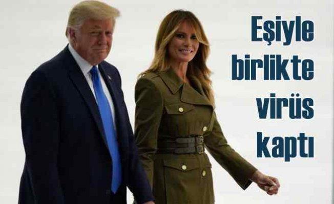 Trump ve eşi korona oldu | Yönetim karantinada
