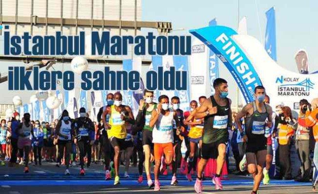 42'nci İstanbul Maratonu ilklere sahne oldu