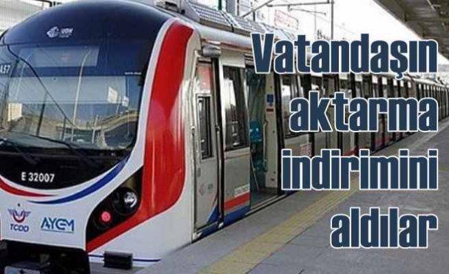 AK Parti İstanbul'dan intikamını Marmaray aktarmasıyla aldı