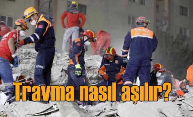 Deprem sonrası travmaya dikkat! | Korku nasıl aşılır?