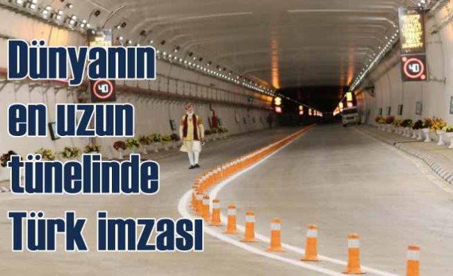 Dünyanın en uzun tünelinde Türk imzası var