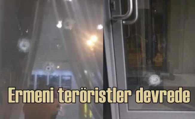 Ermeni teröristler Azerbaycan konsolosluğuna saldırdı