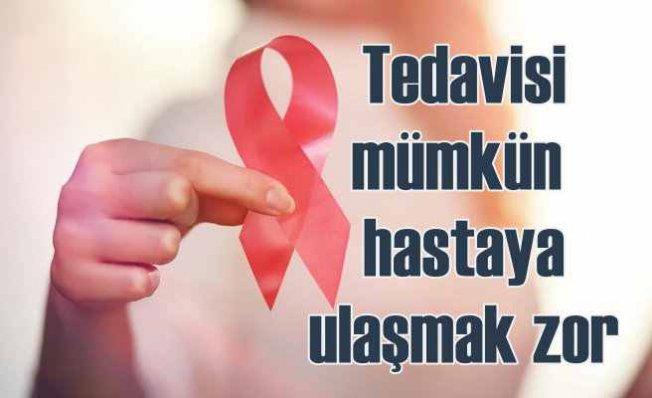 HIV'de Tedavi Mümkün, Zor Olan Hastaya Ulaşmak