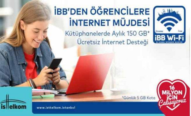 İBB öğrencilere internet desteğini 150 GB'ye çıkarıyor