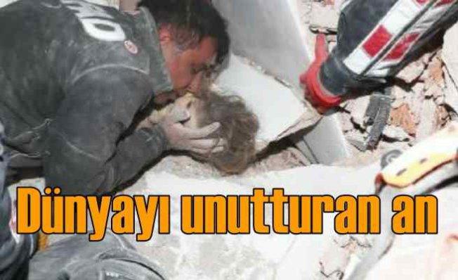 İzmir depremi | Ayda bebek, dünyanın bütün köfteleri sana feda olsun