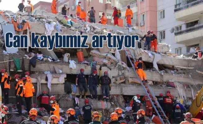 İzmir depremi | Can kaybı artıyor | Kurtarma ekipleri ölümden döndü
