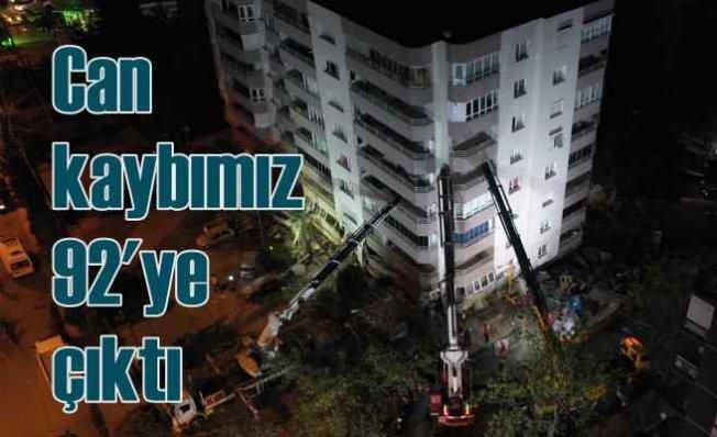 İzmir depremi | Can kaybı sayısı 92'ye yükseldi