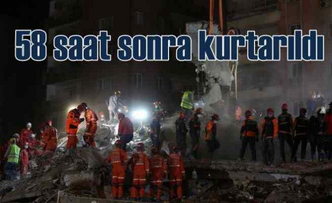İzmir Depremi   İdil 58 saat sonra kurtarıldı
