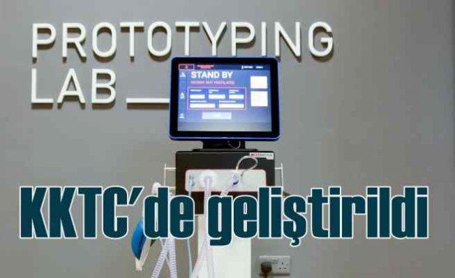 KKTC'de üretilen yerli solunum cihazı MÜSİAD Expo'da