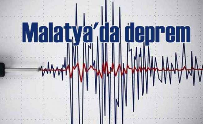 Malatya'da deprem | Malatya 4.9 ile sallandı