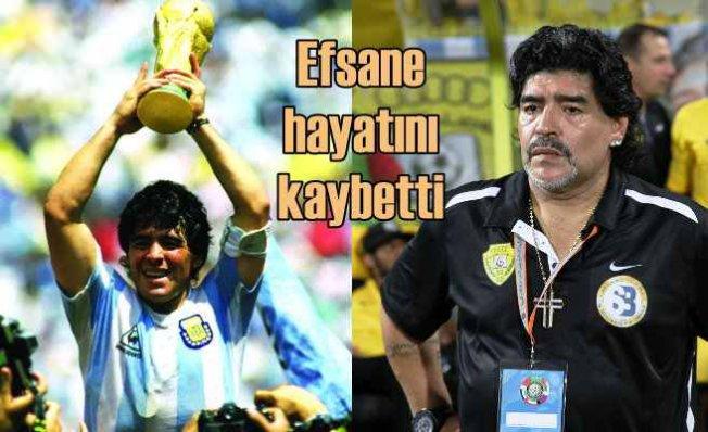 Maradona hayatını kaybetti | Futbol efsanesinden acı haber