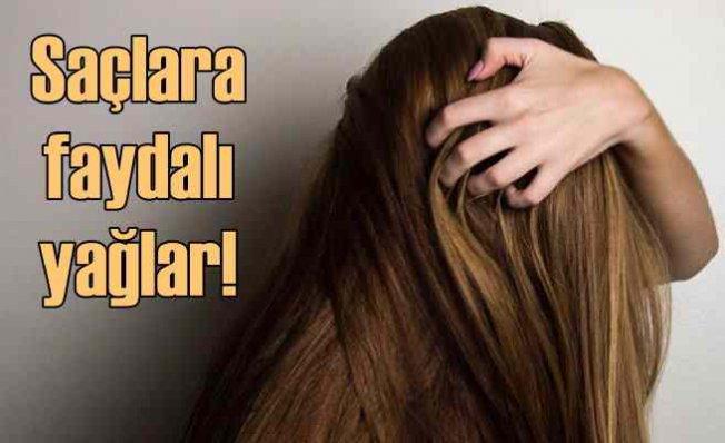 Saçlara Faydalı Yağlar Hangileridir?