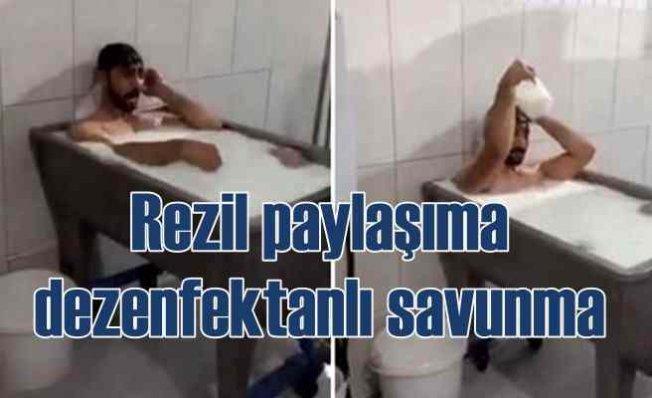 Süt banyosu skandalında verilen ifadeler ortaya çıktı